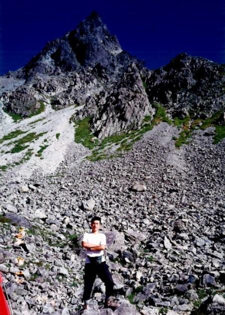 大学時代は山に登っていました