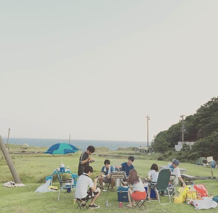 夏はキャンプと音楽フェスです