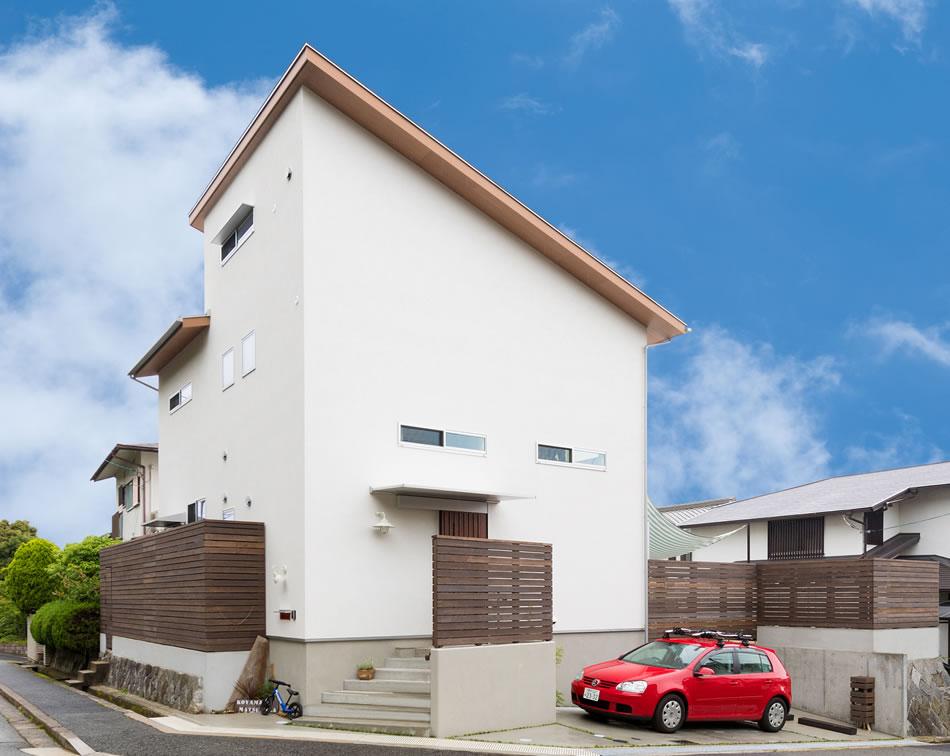神戸の工務店 あんじゅホーム【施工事例】光、風、無垢の木。自然を味方にした家